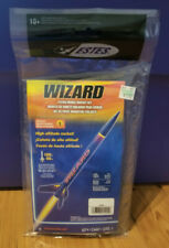 Estes Wizard Flying Model Rocket Kit New Sealed 1600ft with Streamer Recovery