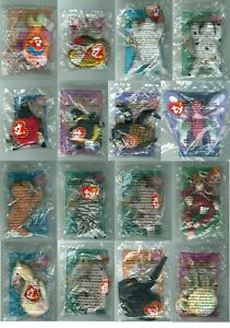 2000 McDonald's Happy Meal Toy Ty Teenie Beanie Baby - You Pick - New Unopened