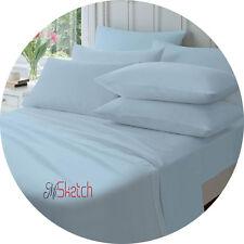 BLUE 100/% Cotton * NAPGUARD* Super Quality Flannelette SINGLE FLAT SHEET