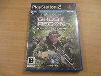 jeu playstation 2 tom clancy's ghost recon jungle storm