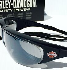 NEW* Harley-Davidson HD402GR Black Orange GREY Lens Sunglass w lanyard