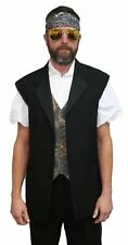 50R Halloween Costume Tuxedo Jacket Rocker Duck Dynasty ZZ Top Zombie Discount