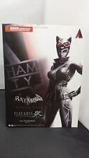 CATWOMAN Square Enix Play Arts Kai BATMAN ARKHAM CITY Collector Toy Figure -NISB