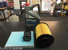 FORD FOCUS MK2 1.6 SERVICE KIT OIL AIR CABIN FILTERS 5 LITRES OIL XFLOW