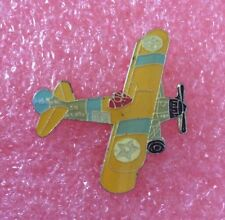 Pins Avion de Chasse BOEING STEARMAN MODEL 75 Airplane Biplan Traîner Aircraft