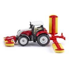 1:87 Steyr W/pottinger Mower Combination - Siku Tractor Pottinger 187 Model Toy