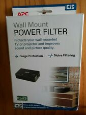 APC Model C2C Type Wall Mount Power Filter