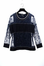 c7fce85a2d5 DKNY NEW 24640 Layered Tank Long Sleeve Lace Sweater Womens Top L