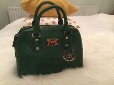 Michael Kors Cindy Satchel Handbag Green