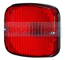 SIM 3132 Auto Furgone Rimorchio Horsebox 12v/24v Posteriore Montaggio A Filo Rosso Lampada/Luce Antinebbia