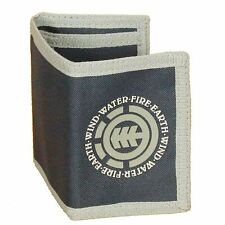 Element Trifold Wallet With Internal Pockets and Zipped Coin  ~ Elemental