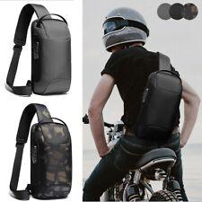 Anti-theft Sling Backpack Men's Chest Bag Crossbody Backpack Shoulder Daypack