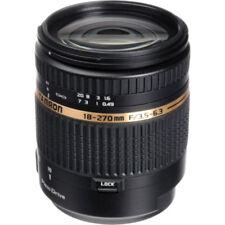Objetivos zoom F/3, 5 18-270mm para cámaras