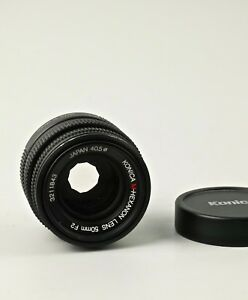 Konica 50mm f2 Hexanon in a Leica M mount.