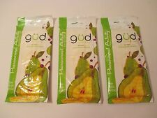 NEW GUD BURT'S BEES Pear & ACA Berry Natural Cleansing Wipes Towelettes