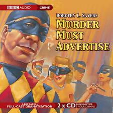Murder Must Advertise by Dorothy L. Sayers - audio CD BBC full-cast radio drama
