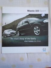 Mazda 323 Sport brochure Apr 2000