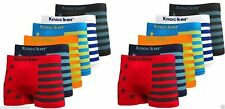 6pk Mens Seamless MS036 Boxer Briefs Short Microfiber Underwear Knocker #36