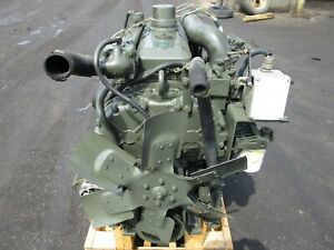 GOVERNMENT SURPLUS DETROIT DIESEL 4-71 ENGINE