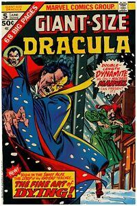 Giant Size Dracula #5 Marvel Comics NM Minus Vs The Demon of Devil's Lake