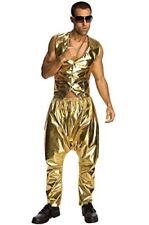 Rubie's Costume Mc Hammer Lame Pants, Gold, One Size