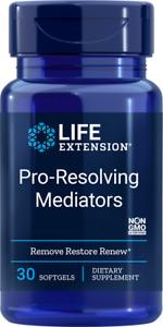 PRO RESOLVING MEDIATORS RENEW HEALTHY TISSUES 30Sgels LIFE EXTENSION