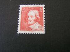 FRANCE, SCOTT # 305, 75c. VALUE 1935 ISSUE  JACQUES CALLOT FOUNDER MVLH
