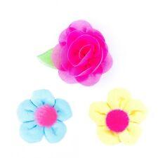 Dog Flower Barrette - Flower Hair Clip Topknot Bow Crown Princess Pet