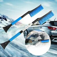 New Car Windshield Snow Removal Frost Telescoping Broom Ice Scraper With Brush