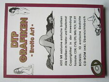 CD : DTP Grafiken - Erotic Art - 1995 by XWare