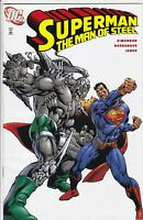 SUPERMAN: MAN OF STEEL #19 MATTEL REPRINT VARIANT VF+ VS DOOMSDAY DC COMICS