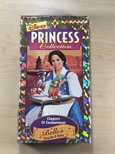 Disney Princess Collection CHAPTERS OF ENCHANTMENT Belle's Sing Me A Story VHS