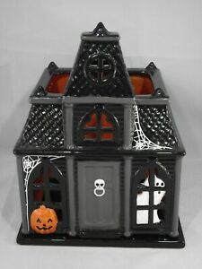 Slatkin & Co Halloween Haunted House Luminary 2010 Bath Body Works