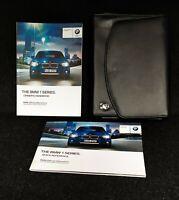 GENUINE BMW 1 SERIES F20 F21 2011-2015 HANDBOOK OWNERS MANUAL PACK L-853