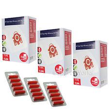 15 x 3D type HYCLEAN pour aspirateur MIELE FJM Sacs pour Aspirateur Miele + Filtres + assainisseurs