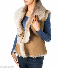 Suede Casual Hip Length Plus Size Coats & Jackets for Women