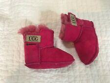 UGG boots baby / infant / child size Medium (6-12 months) Hot Pink 02 Natives