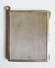 Pendentif Cadre porte-photo argent massif vers 1920  ART DECO chatelaine