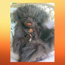 VINTAGE & RARE CHARLIE BEAR, Valentino, large cuddly and those eyes!!! 😁
