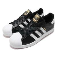 best cheap bade0 4a2f7 adidas Originals Superstar Black White Gold Men Classic Casual Shoes D96800