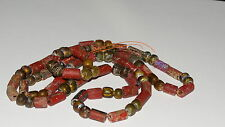 Viking necklace. Glass, pasta ,foiled glass ,polychrome beads. ca 7-9 AD.