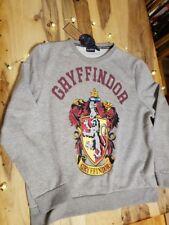 Harry Potter Primark Sticker Print Gryffindor Jumper Size L 14/16 - New