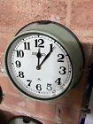 Vintage Ship Clock - Seiko Wall Clock Industrial Marine Salvage