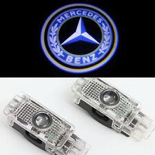 2x Ghost Shadow LED Door Courtesy Laser Light for Mercedes Benz C-Class SLK SLR