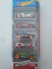 Hot Wheels 2020 5-Car Pack Action Collectables Best For Track