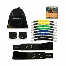 DYNAMX TRAINER: Speed and Agility Training Leg Resistance Bands for All Sport...