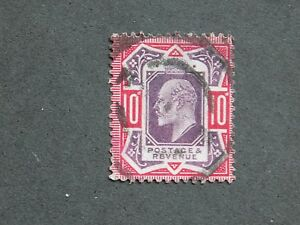 (1) used Great Britain stamp Scott# 137a-King Edward Vll-We combine shipping