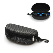 Large Zipper Brillen Sonnenbrillen Clam Protector Hard Case Box Tragbare Schutz