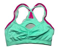 Korera Activewear bra size M green / pink