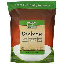 Now Foods  Real Food  Dextrose  32 oz  907 g